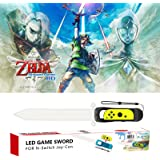 LED Game Sword for The Legend of Zelda: Skyward Sword HD-Nintendo Switch with Adjustable Wrist Strap Only for Right Joy-Con (