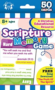 Scripture Memory: 50-count Game Cards