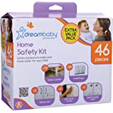 Dreambaby Home Safety Essentials 46 Pieces Kit, White