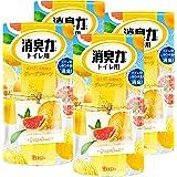 【まとめ買い】トイレの消臭力 トイレ用 グレープフルーツの香り 400ml×4個 トイレ 置き型 消臭剤 消臭 芳香剤