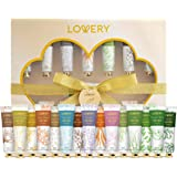 Aromatherapy Lotion Home Spa Gift Box for Women & Men - Shea Butter, Jojoba Oil, Coconut Scented Hand Cream Set for Dry Hand,