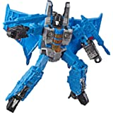"TRANSFORMERS - 10"" Thundercracker Action Figure - Generations - War for Cybertron: Siege Voyager Class - Takara Tomy - Kids T"