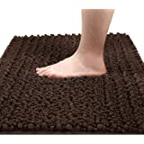 Yimobra Original Luxury Shaggy Bath Mat Large Size 31.5 X 19.8 Inch Super Absorbent Water,Non-slip,Machine-Washable,Soft and