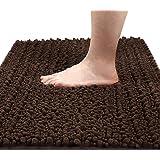 Yimobra Original Luxury Shaggy Bath Mat Large Size 31.5 X 19.8 Inch Super Absorbent Water,Non-slip,Machine-Washable,Soft and