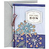 Hallmark Birthday Greeting Card to Son (Flowers)