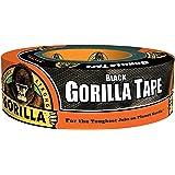 "Gorilla Black Duct Tape, 1.88"" x 38.5 yd, Black, (Pack of 1),6038505"