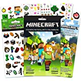 Minecraft Stickers Party Favors Ultimate Set -- Bundle Includes Over 400 Minecraft Stickers with Bonus Robot Stickers (Minecr