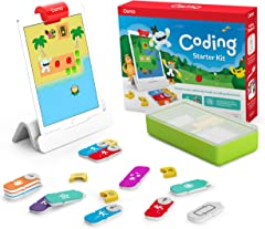 Osmo 901-00021 - Coding Starter Kit for iPad - 3 Educational Learning Games - Ages 5-10+ - Learn to Code, Coding Basics & Cod