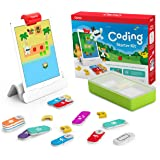 Osmo - Coding Starter Kit for iPad - 3 Hands-on Learning Games - Ages 5-10+ - Learn to Code, Coding Basics & Coding Puzzles i