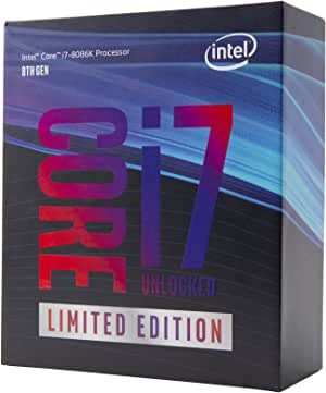 Intel 40周年記念版CPU - 5GHzまで昇圧された最速6コアプロセッサ Core i7-8086K
