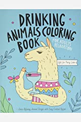 Drinking Animals Coloring Book Paperback