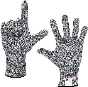 Doyime 防刃 手袋 切れない グローブ 【 左右 セット 】 安心 安全 高強度 ポリエチレン 繊維