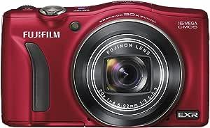 FUJIFILM デジタルカメラ FinePix F800EXR 光学20倍 レッド  F FX-F800EXR R