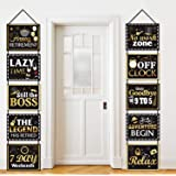 Retirement Party Decorations Happy Retirement Banner Retired Yard Sign Retirement Party Suppliers Hanging Cards Decorating Ki