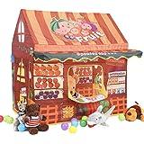 HomeSpon(ホームスポン) キッズテント 果物屋 子供用テント キッズハウス おままごと 玩具 おもちゃ 室内室外 子供用遊具 プレゼント 誕生日お祝い