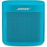 Bose SoundLink Color II: Portable Bluetooth, Wireless Speaker with Microphone- Aqua Blue
