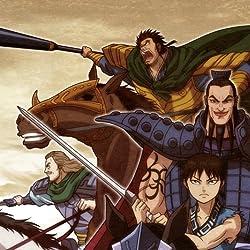 キングダムの人気壁紙画像 李信,王騎,蒙武, 騰