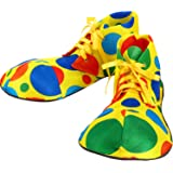 Unisex Clown Shoes Rainbow Halloween Costumes, Accessories, Props and Kits