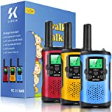 Supker Walkie Talkies for Kids 3Pack, 22 Channels 2 Way Radio Toy , Kids Talks Toy for 3-12 Year Old Boys Girls Gift, 3 Miles