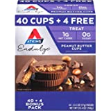 Keto Friendly Atkins Endulge Peanut Butter Cups Pack, 26.4 Ounce (Pack of 44)