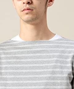Boatneck Shirt 1212-414-5724: Grey
