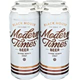 Modern Times Black House Coffee Stout, 473 ml (Pack of 4)