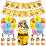 Winnie The Pooh Party Supplies Pooh Bear Birthday Decorations Winnie The Pooh Birthday Party Supplies Set Include Balloons Ba
