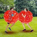 SUNSHINEMALL Bumper Balls for Adults 2 Pack, Inflatable Body Bubble Ball Sumo Bumper Bopper Toys, Heavy Duty Durable PVC Viny