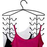 CAXXA Women's Bra Sport Tank Top Swim Suit Strap Dress Hangers for Closet Organizer 3 Pack