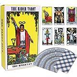 78枚 タロットカード 占い ウェイト版 ライダータロット スタンダード The Rider Tarot Deck 英語説明書