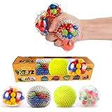 KTOYZ Dna Stress Balls - Fidget Toy Set ,Squishy Toys,Kid Safe and Non-Toxic Stress Balls with Water Beads ,Sensory toys for