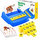 LET'S GO! Learning Educational Toys for kids Ages 3-8,Letters Game for kids Matching Numbers and Spelling Toys for 3-8 Year O