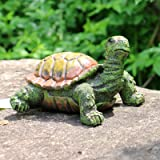Garden Statues and Figurines Outdoor Clearance Sea Turtle Statues Decor Tortoise Sculptures Gnome Patio Ornaments Garden Back