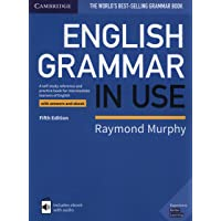 English Grammar in Use 5th edition Book with answers and int…