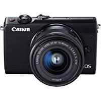 Canon EOS M100 Mirrorless SLR digital Camera, blk