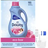 Downy April Fresh, FREE OF DYES, Ultra Concentrated, Liquid Fabric Conditioner (Fabric Softener) Eco-Box, HE Compatible, 105