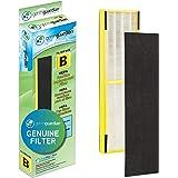 Germ Guardian FLT4825 True HEPA GENUINE Air Purifier Replacement Filter B for GermGuardian AC4300BPTCA, AC4900CA, AC4825, AC4