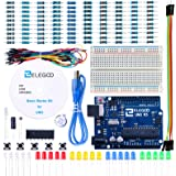 Elegoo UNO Project Basic Starter Kit with Tutorial and UNO R3 for Arduino