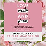 Love Beauty And Planet Blooming Color Shampoo Bar for Color Treated Hair Murumuru Butter & Rose Color Vibrancy 4.0 oz
