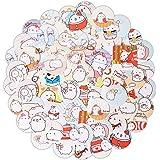 "Haiker 2 Pack of 46 Pcs Lovely Cute""Molang Rabbit"" Calendar Diary Book Envelope Label Sticker Scrapbook Decoration Sticker"