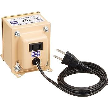 日章工業 トランスフォーマNDFシリーズ(電圧ダウン)120V→100V550W NDF-550U