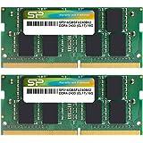 シリコンパワー ノートPC用メモリDDR4-2400(PC4-19200) 16GB×2枚 260Pin 1.2V CL17 永久保証 SP032GBSFU240B22