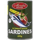 Monika Sardine Fish in Tomato Sauce, 425 g