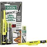 Dixon 14301 Reach Deep Hole Mechanical Pencil with Lead Refills