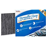Spearhead Premium Breathe Easy Cabin Filter, Up to 25% Longer Life w/Activated Carbon (BE-PARENT) 10.1 x 8 x 1.4 in