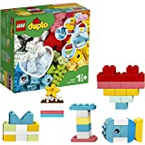 LEGO DUPLO Classic Heart Box 10909 First Building Playset and Learning Toy for Toddlers, Great Preschooler's Developmental To