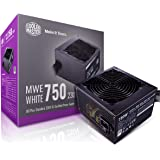 Cooler Master MWE 80Plus White 750W 230V 80Plus Single +12V Rail Silent Mode DC-to-DC Power Supply - Black - MPE-7501-ACABW-A