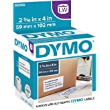 DYMO LW Standard Shipping Labels for LabelWriter Label Printers, White, 2-5/16'' x 4'', 1 roll of 300 (30256)