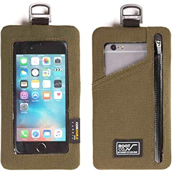 【ROOT CO.】 PLAY スマートフォンポーチ /Smart Phone Shell Pouch Phone (カーキ)