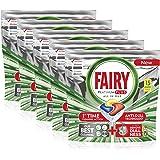 Fairy Platinum Plus Dishwasher Tablets, Lemon, 75 Tablets (15 x 5)